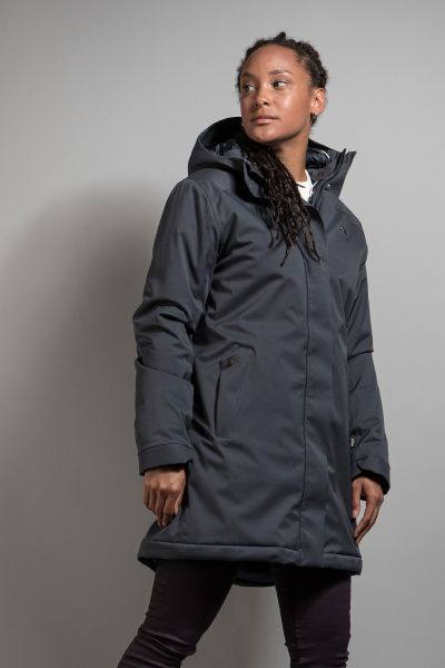 Tatonka Stir W's Hooded Parka grey blue grau Mäntel 4013236307863