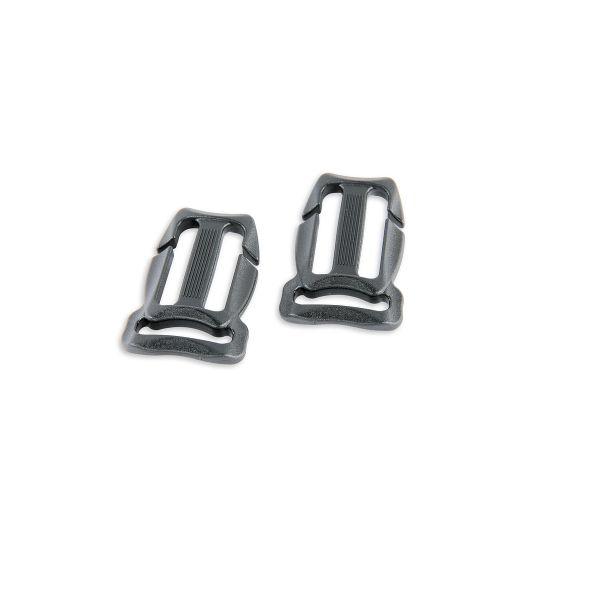 Tatonka ChestBelt Bkl. 25/20mm QA pair black schwarz Rucksack-Zubehör 4013236089097