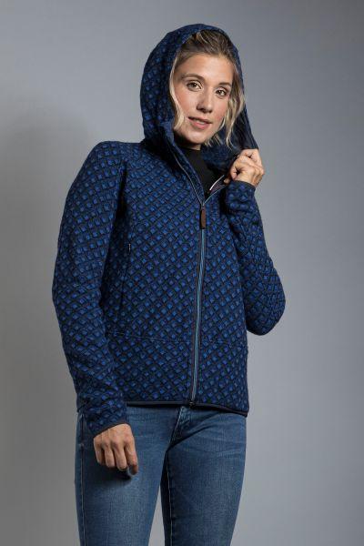 Tatonka Kolma W's Hooded Jacket deep blue blau Jacken 4013236309362
