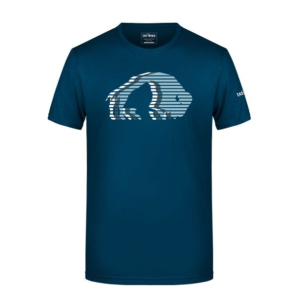 Tatonka Logo T-Shirt Men petrol blau T-Shirts 4013236314700