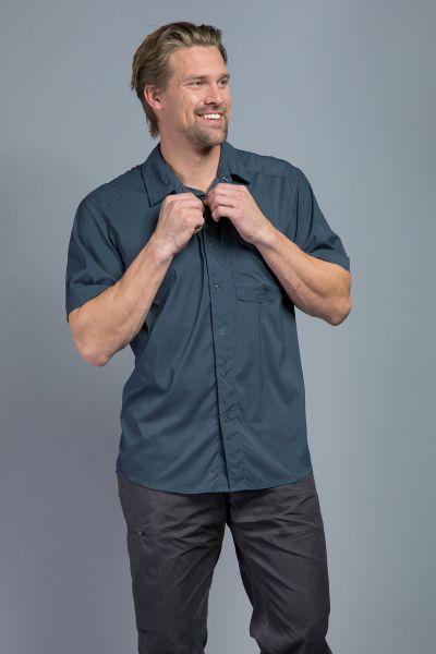 Tatonka Sejo M's Short Sleeve Shirt deep blue blau Hemden 4013236295634