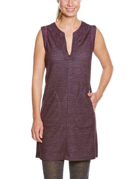 Tatonka Hinio W's Dress aubergine red rot Röcke & Kleider 4013236260533