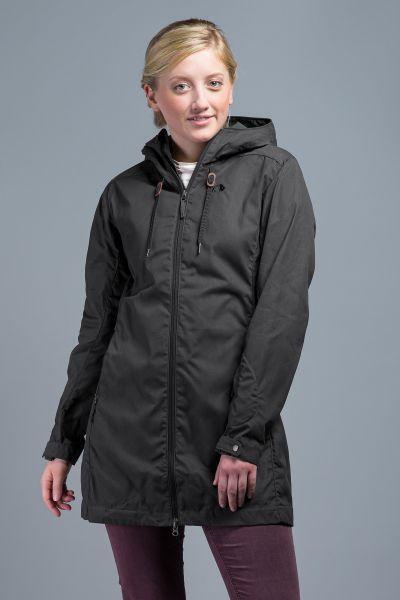 Tatonka Jesper W's Hooded Coat dark grey grau Mäntel 4013236325089