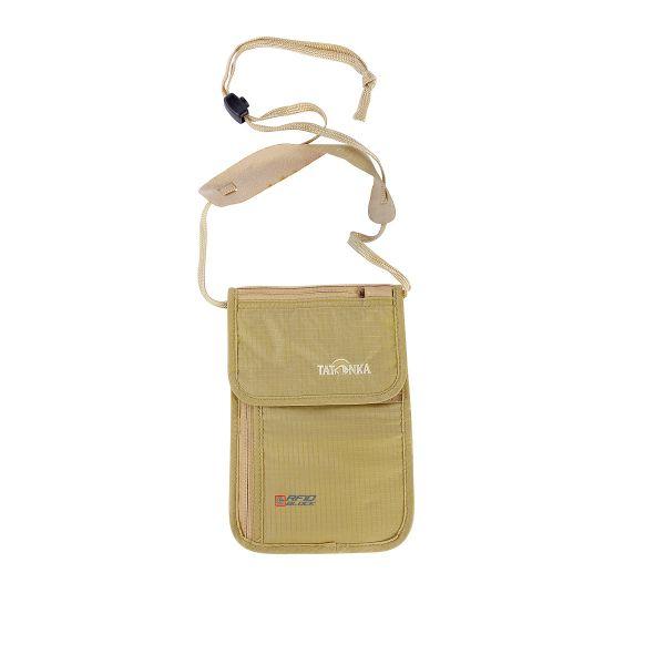 Tatonka Skin Neck Pouch RFID B natural weiß Geldbeutel 4013236283815