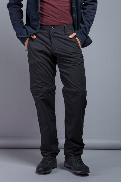 Tatonka Travel M's Zip off Pants dark black schwarz Hosen 4013236318579