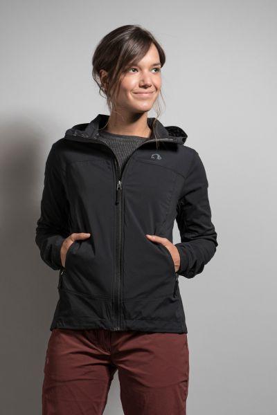 Tatonka Lajus W's Hooded Jacket dark black schwarz Jacken 4013236295214
