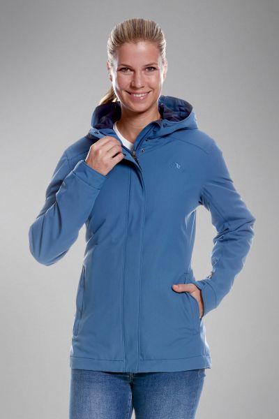 Tatonka Jons W's Hooded Jacket lighter blue blau Jacken 4013236291759