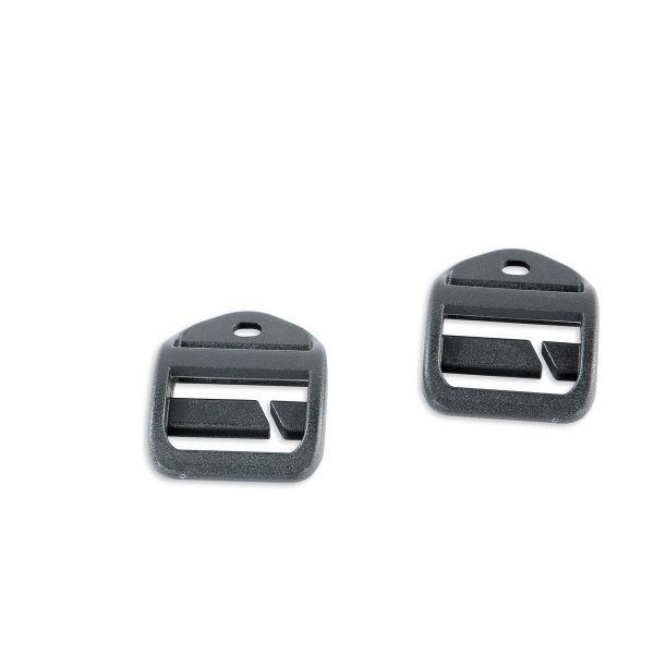 Tatonka Open Ladderlock 25mm QA (pair) black schwarz Rucksack-Zubehör 4013236071252