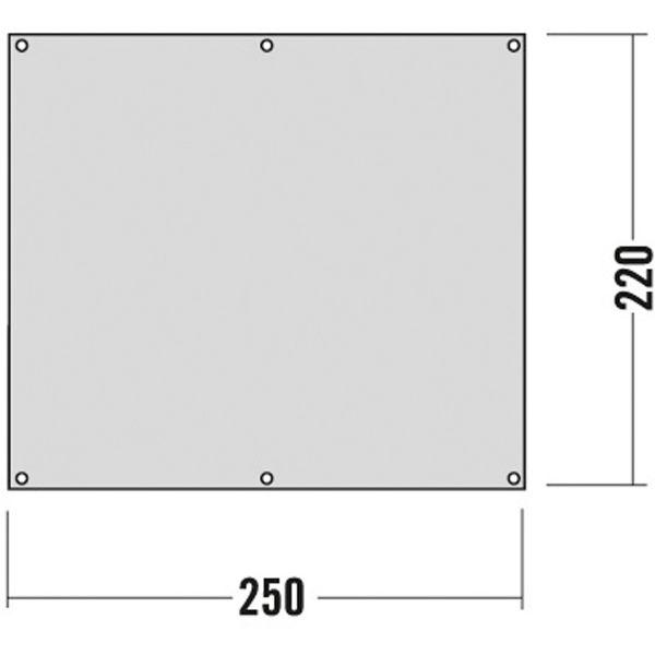Tatonka Zeltunterl. 250x220 Zelt- & Tarpzubehör 4013236370010