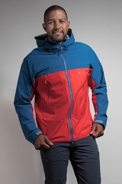 Tatonka Zenja M's RECCO Jacket naut. blue/orangered blau Jacken 4013236300222