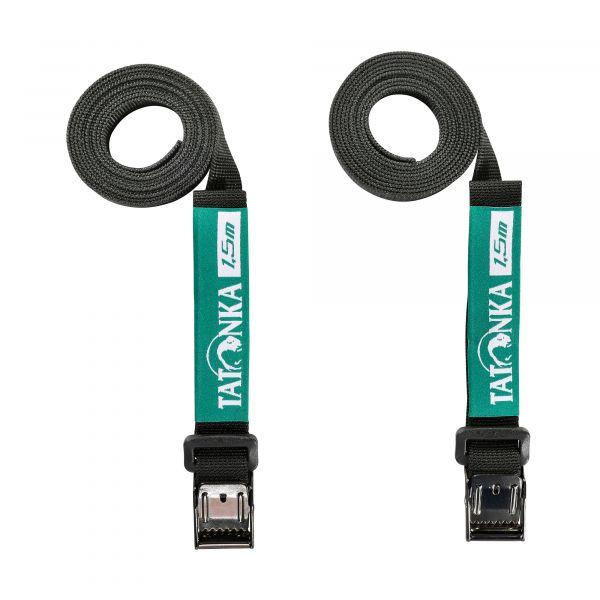 Tatonka Easy Strap 18mm/1,50m Pair black schwarz Reisezubehör 4013236335231