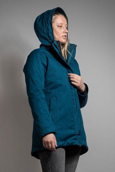 Tatonka Naika W's 3in1 Coat nocturne blue blau Mäntel 4013236248708