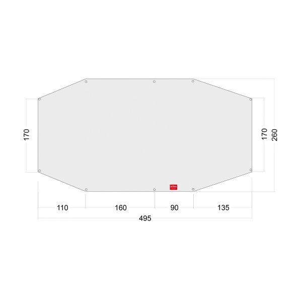 Tatonka Floor Sheet PE Family Camp Zelt- & Tarpzubehör 4013236335064