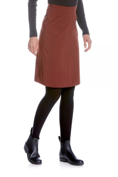 Tatonka Lajus W's Skirt aubergine red rot Röcke & Kleider 4013236298161
