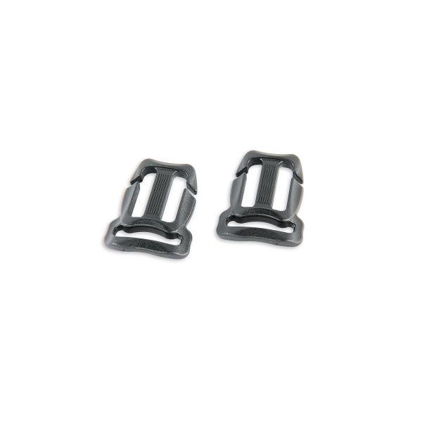 Tatonka Chest BeltBuckle 20/20mm(pair) black schwarz Rucksack-Zubehör 4013236098938