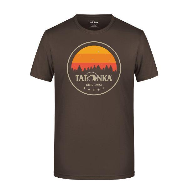 Tatonka Heritage T-Shirt Men brown braun T-Shirts 4013236314823