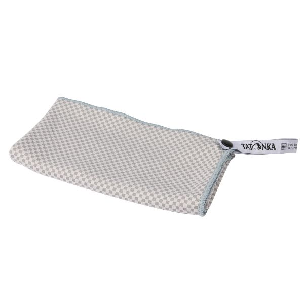 Tatonka Travel Towel Bamboo S grey grau Reisezubehör 4013236305067