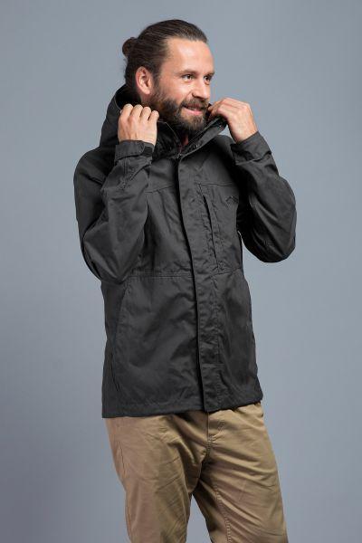 Tatonka Jesper M's Hooded Jacket dark grey grau Jacken 4013236325454