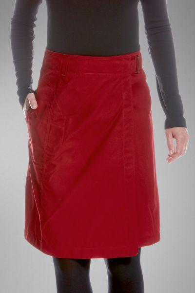 Tatonka Vinjo W's Skirt lava red rot Röcke & Kleider 4013236300550