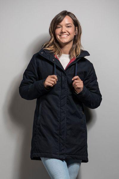 Tatonka Malava W's Hooded Coat dark blue blau Jacken 4013236311419