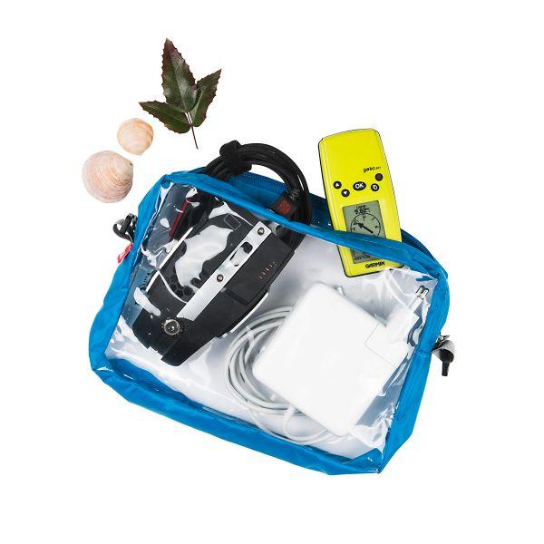 Tatonka Clear Bag A5 transparent weiß Kulturbeutel 4013236150285