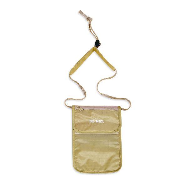 Tatonka Skin Folded Neck Pouch natural weiß Geldbeutel 4013236000115