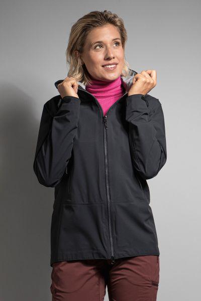 Tatonka Zenja W's RECCO Jacket dark black schwarz Jacken 4013236341652