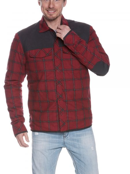 Tatonka Arvo M's Padded Jacket cherry red rot Jacken 4013236285772