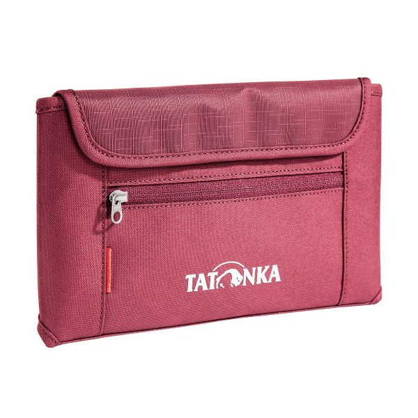 Tatonka Travel Wallet bordeaux red rot Geldbeutel 4013236255898