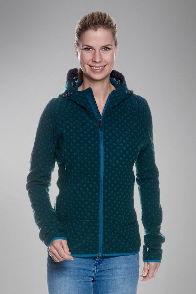 Kolma W's Hooded Jacket Strickjacke