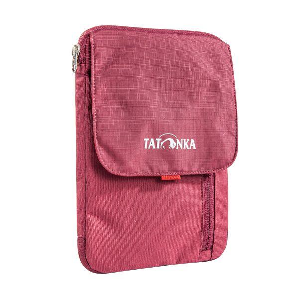 Tatonka Check In Folder bordeaux red rot Umhängetaschen 4013236256260