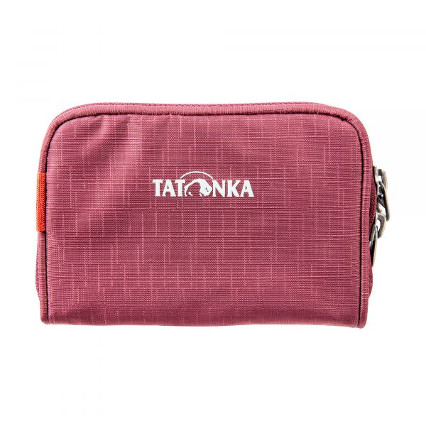 Tatonka Big Plain Wallet bordeaux red rot Geldbeutel 4013236256208