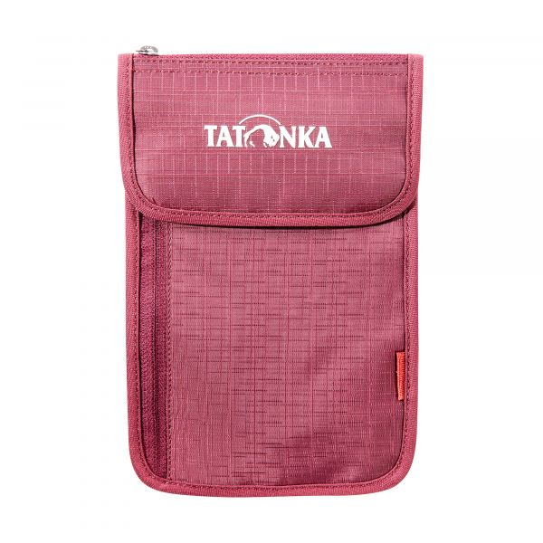 Tatonka Neck Wallet bordeaux red rot Geldbeutel 4013236255911