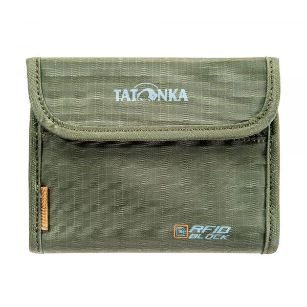 Tatonka Euro Wallet RFID B olive grün Geldbeutel 4013236949421