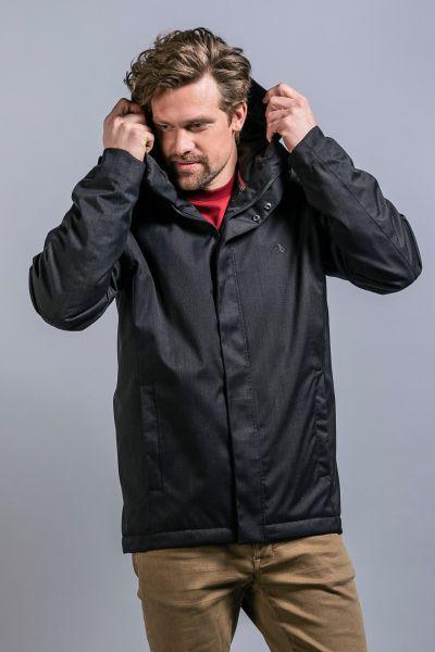 Tatonka Jonno M's Hooded Jacket black schwarz Jacken 4013236346084