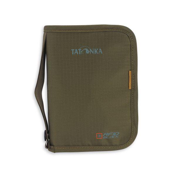Tatonka Travel Zip M RFID B olive grün Geldbeutel 4013236042030