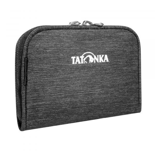 Tatonka Big Plain Wallet off black schwarz Geldbeutel 4013236336238