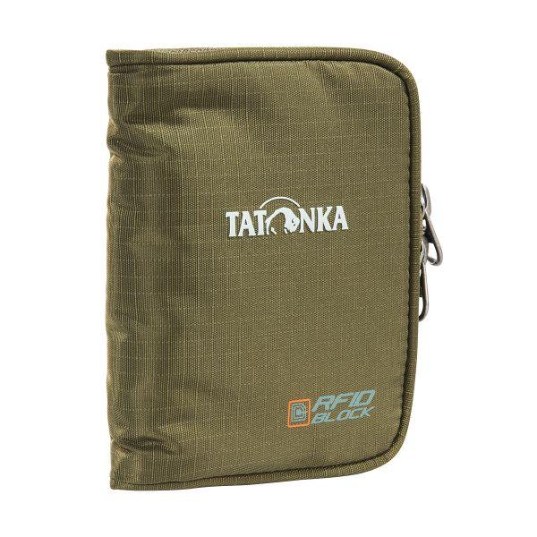 Tatonka Zip Money Box RFID B olive grün Geldbeutel 4013236257540
