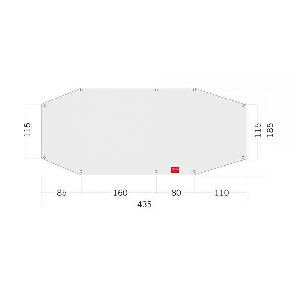 Tatonka Floor Sheet PE Alaska 3 Zelt- & Tarpzubehör 4013236335019