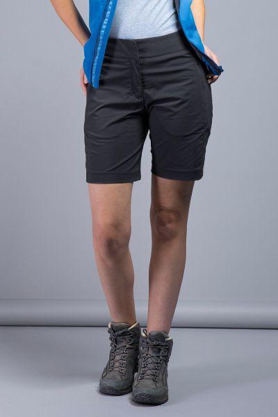 Tatonka Lajus W's Shorts dark black schwarz Hosen 4013236294521