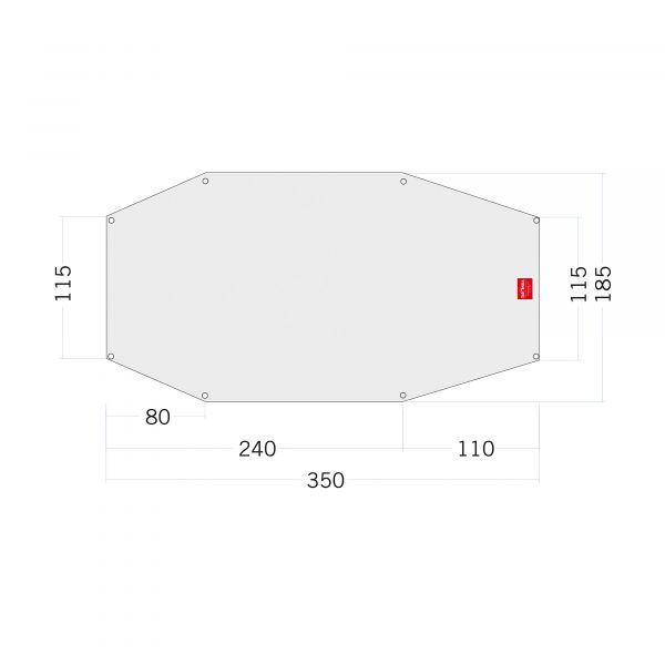 Tatonka Floor Sheet PE Arctis 3 Zelt- & Tarpzubehör 4013236334999