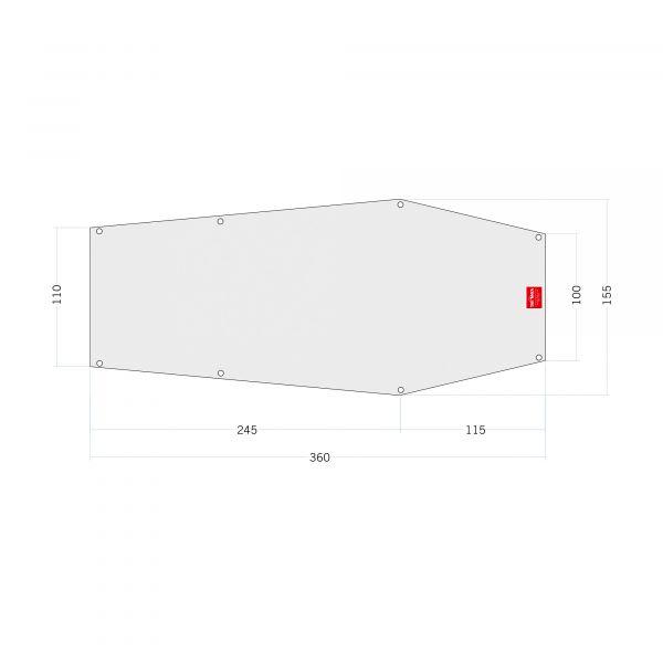 Tatonka Floor Sheet PE Narvik 2 Zelt- & Tarpzubehör 4013236334944