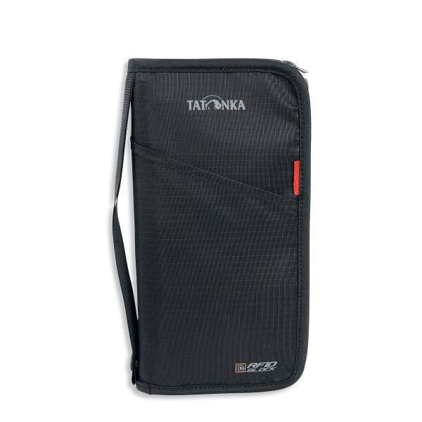 Tatonka Travel Zip L RFID B black schwarz Geldbeutel 4013236234480