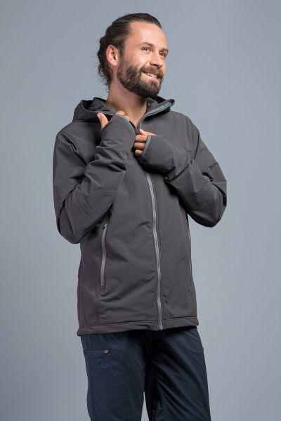Tatonka Cesi M's Hooded Jacket dark grey grau Jacken 4013236330878