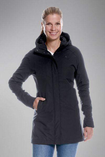 Tatonka Jons W's Hooded Coat dark black schwarz Jacken 4013236291025