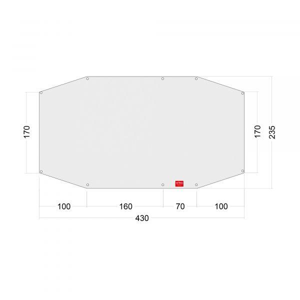 Tatonka Floor Sheet PE Alaska 3DLX Zelt- & Tarpzubehör 4013236335040