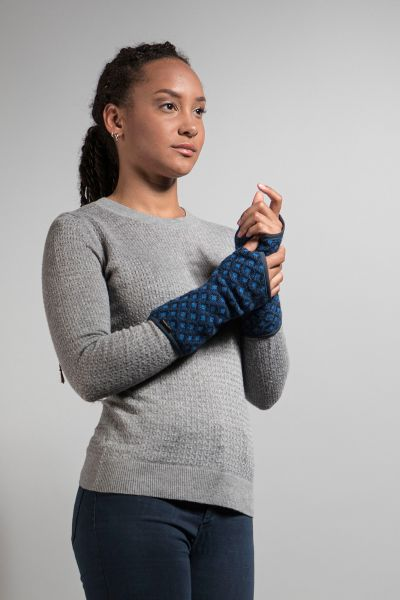 Tatonka Kolma Wrist Warmer deep blue blau Accessoires 4013236309638