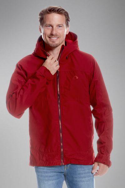 Tatonka Vinjo M's Hooded Jacket lava red rot Jacken 4013236301939