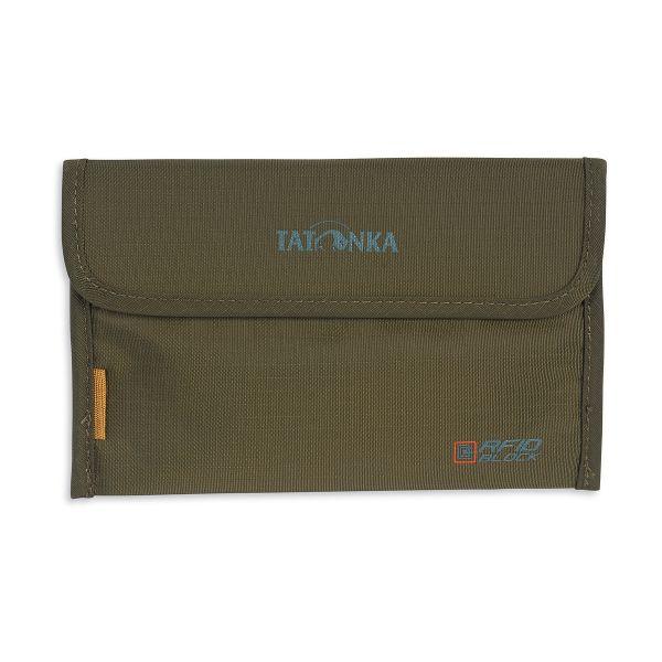 Tatonka Travel Folder RFID B olive grün Geldbeutel 4013236037319