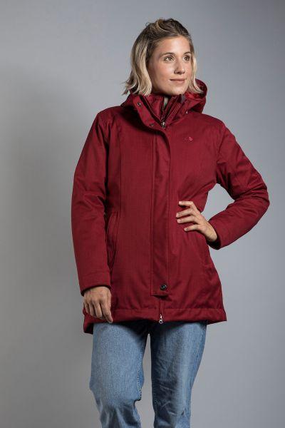 Tatonka Naika W's 3in1 Coat cherry red rot Mäntel 4013236273113